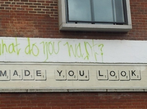 Some Bansky found at Notting Hill