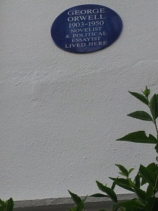George Orwell at Notting Hill.
